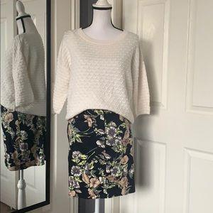 ⬇️REDUCED! Brooks Brothers floral mini skirt